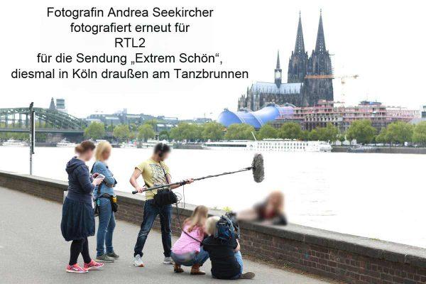 Fotografin Andrea Seekircher fotografiert für RTL2 Extrem Schön